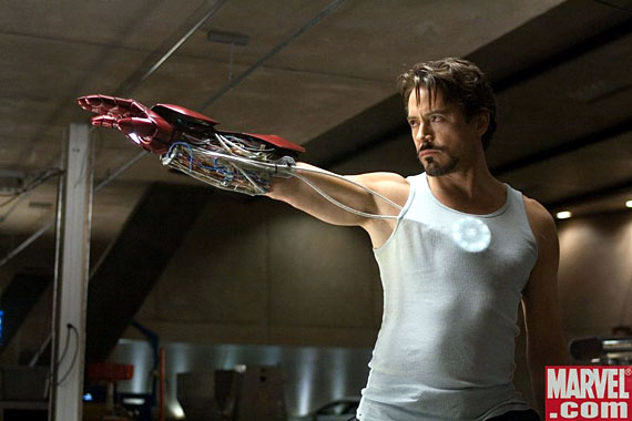 Real Men of Action: Tony Stark - Everything Action
