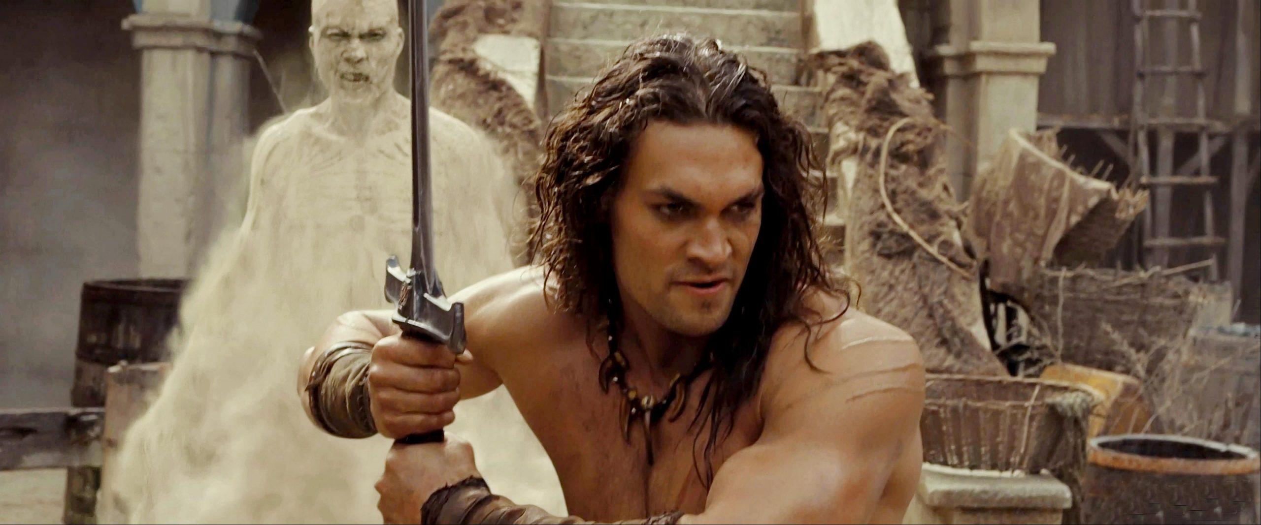 Conan 2011 Good review: conan the barbarian - everything action