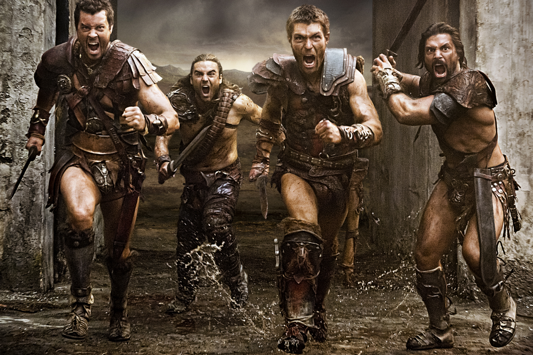 Removed spartacus war of the damned gannicus those