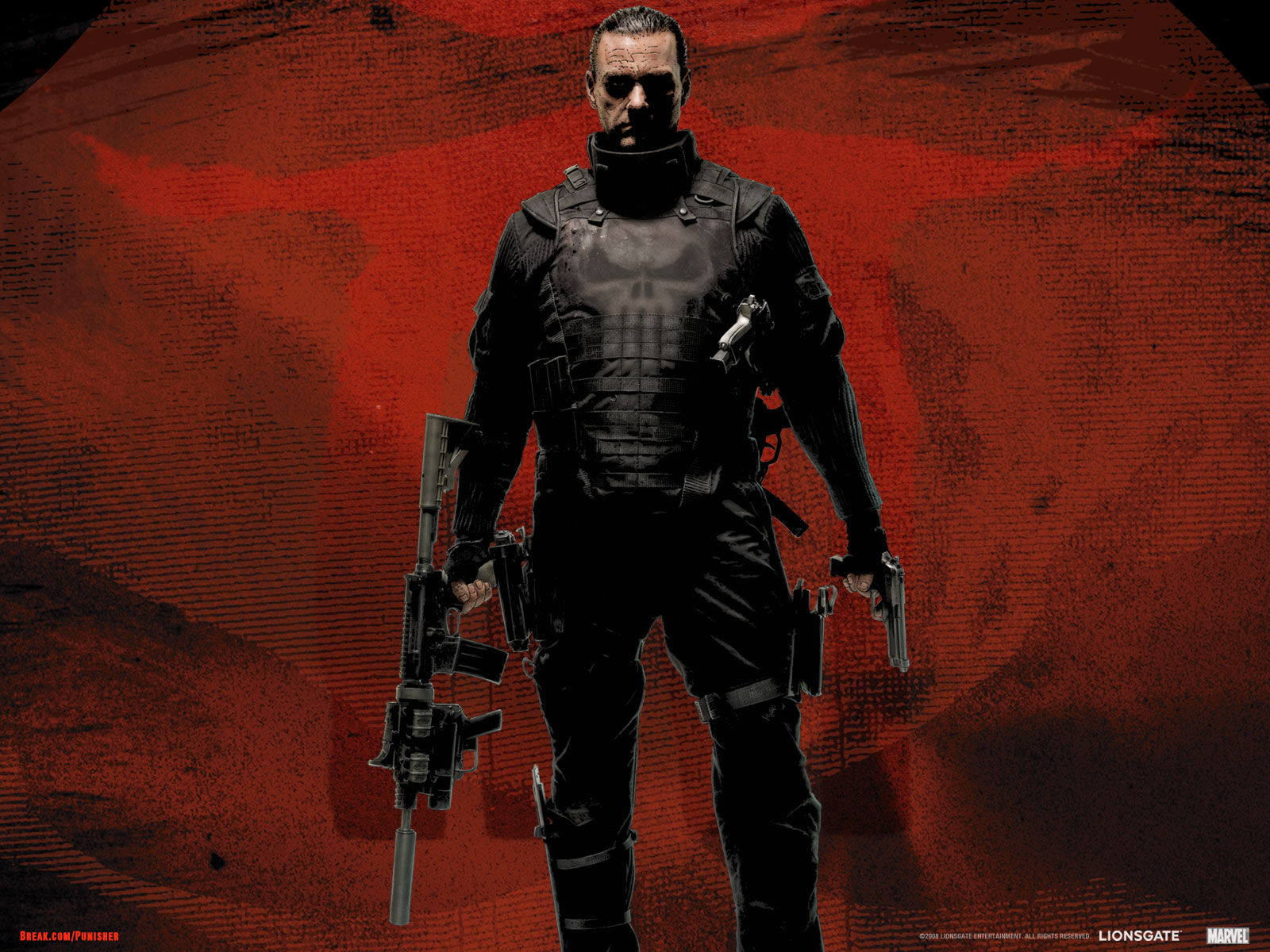 Covers. Box. Sk::: punisher war zone high quality dvd / blueray.